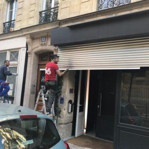 Dépannage rideau métallique Meudon